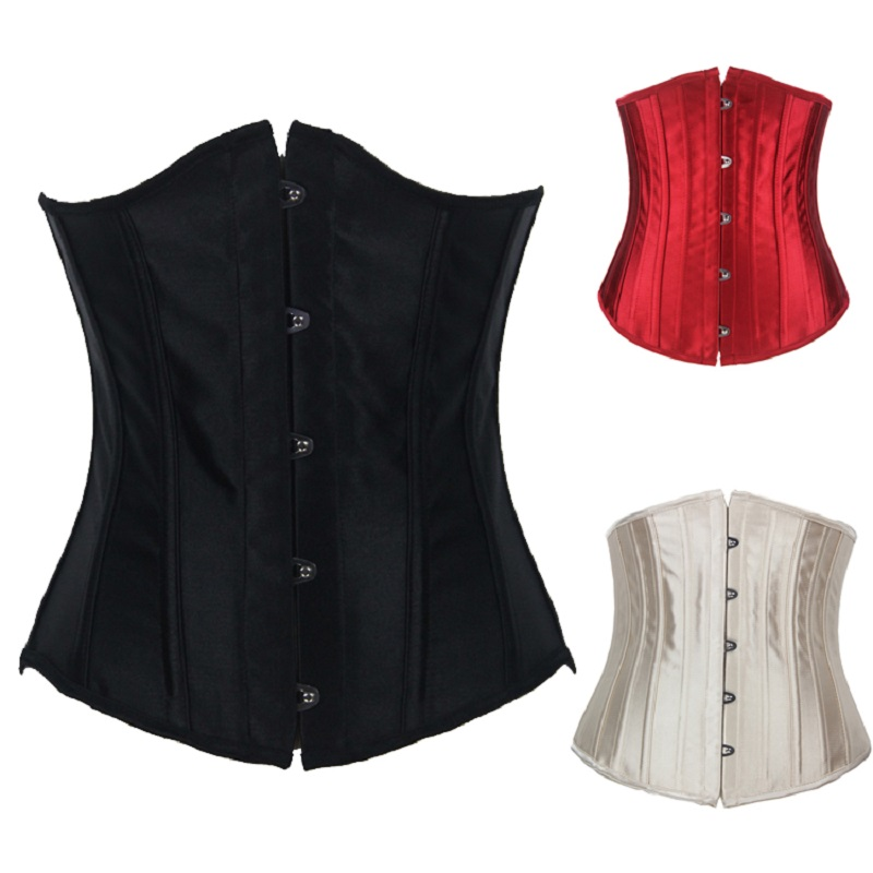 237af2579f9 Free shipping Plus size Corset Sexy corselet Women Steel bustier Lady  corpete Overbust waist training corsets espartilho 23051