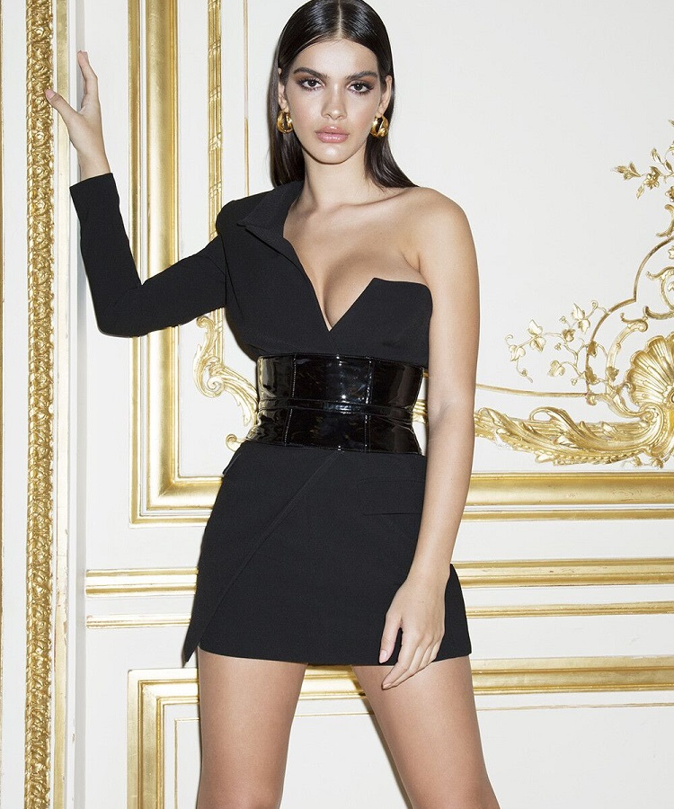 0de4edbada7 latest fashion hot selling luxury sexy cocktail women black party oset  clubbing party queen styles women bodycon sexy outfit clothing wholesale  online